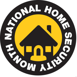 National Home Security Month logo