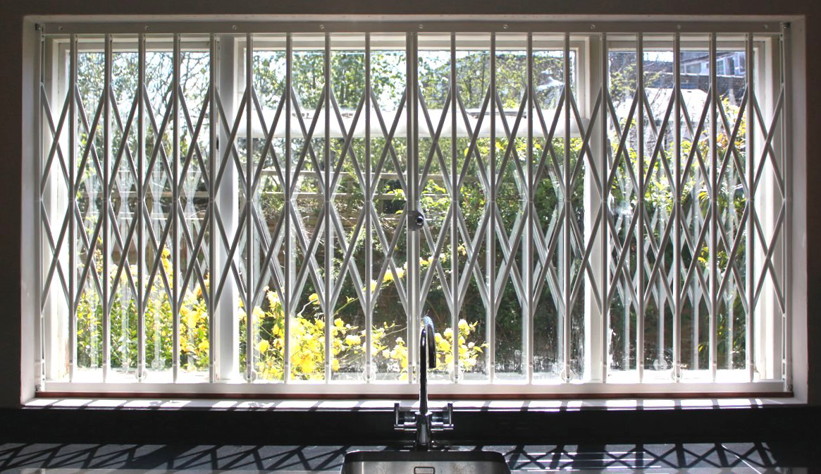 Security grilles and gates discreet solutions